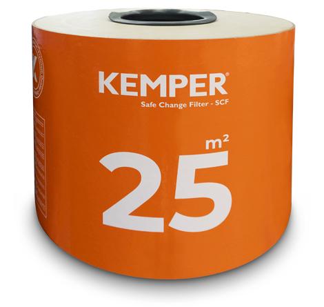 KEMPER Ersatzfilter 25m2 // passend für Smartfil